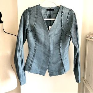 NWT Elie Tahari Fitted Jacket. Size 4